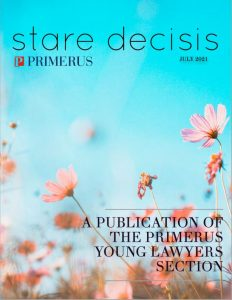 , Mary Edenfield co-authors an article in <i>Stare Decisis</i>